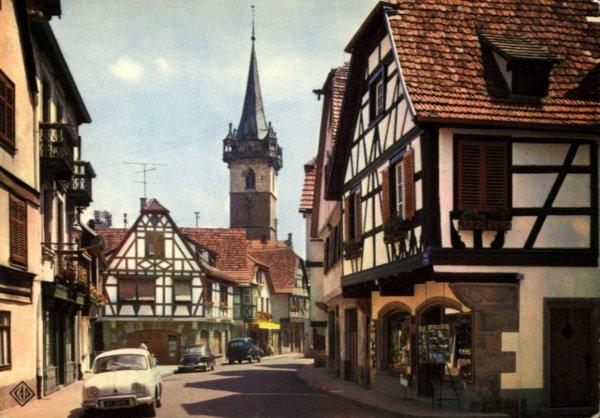 Оберне, Эльзас - Obernai, достопримечательности 10 самых красивых деревень Эльзаса